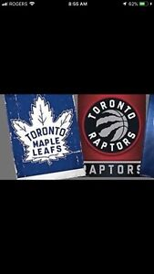 WANTED - Leafs and Raptors Tix 5, 10, 20 or 41 game packages