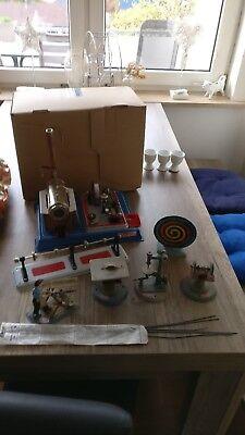 Wilesco Dampfmaschinen  - D16 mit Zubehör