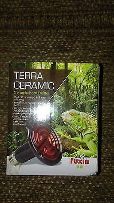 Fuxin Terra Ceramic Heat Emitter Heater bulb, 100-Watt/110-Volt reptile NEW