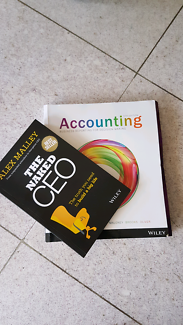 The Naked CEO and Accounting textbook