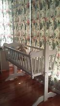 Wooden baby cradle Mirani Mackay Surrounds Preview