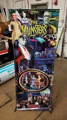 Munsters color Stern Pinball Banner