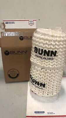 Bunn 20106.0000 8 12 X 3 8 To 10 Cup Decanter Style Coffee Filter - 1000case