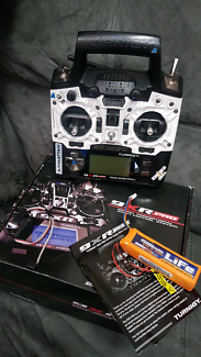Turnigy 9xr Pro transmitter with Frsky XJT module