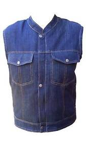 Brand new Motorcycle Sons Of Anarchy Style Denim Vest Clayton Monash Area Preview