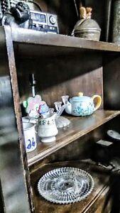 Corner shelve one drawer