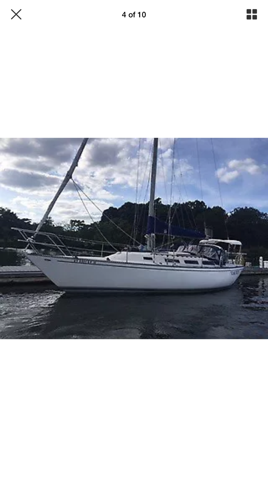 Sailboat Catalina 38