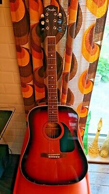 Fender acoustic guitar dg3 well used scratches dings etc but still plays BARGAIN