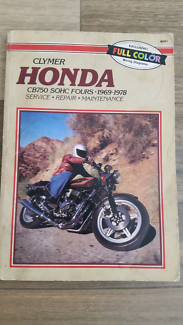 Honda CB 750 manual