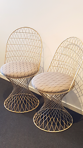 2 Cream Occasional Chairs Canberra City North Canberra Preview