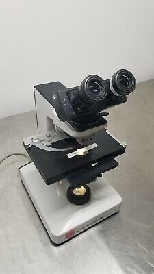 Leitz Laborlux 12 Microscope 4x 10x 40x 100x Npl Fluotar