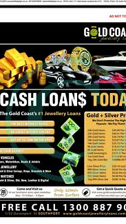 LOANING CASH on BOATS / CARS / JEWELLERY / CARAVANS Broadbeach Waters Gold Coast City Preview