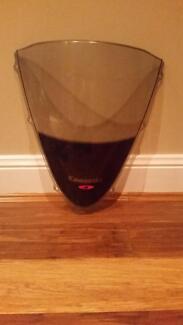 Wind deflector for ninja zx14 kawasaki