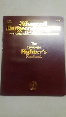 AD&D The Complete Fighter's Handbook - Advanced Dungeons & Dragons - Used - 1989