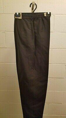 Bob Mackie's Wearable Art  Black Silk Pants Slacks lined Medium  NWT - Lined Silk Slacks