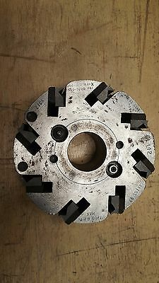 8 Knife Planer Molder Head Corrugated Nos Hydro-lock