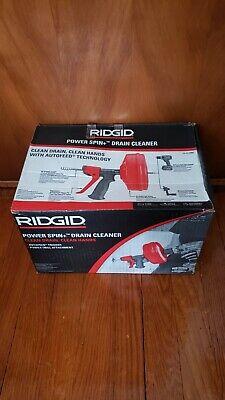 Ridgid 57043 Power Spin Drain Cleaner 34 - 1 12 Drain Lines