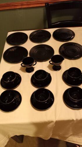 Black Amethyst Dishware