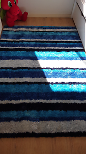 Blue shaggy rug 150cm x 210cm Greenwith Tea Tree Gully Area Preview