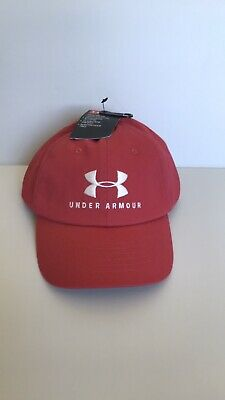Under Armour Women's Pink Ballcap Adjustable Heatgear New!