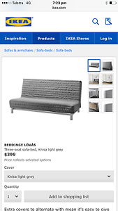 3 seat sofa bed Mile End West Torrens Area Preview