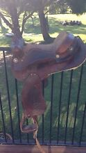 Andy odea Australian western saddle 15 inch mounted Wingham Greater Taree Area Preview