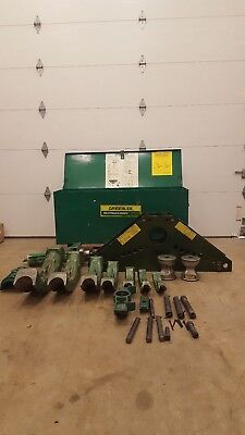 Greenlee 885 Rigid Bender 1 14 To 5  And Electric Pump