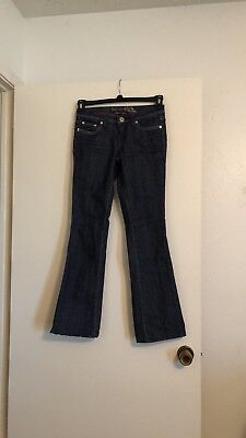 Refuge Jeans Gold Stitching Bootcut Dark Wash Size 1 Gold Stitched Bootcut Jeans
