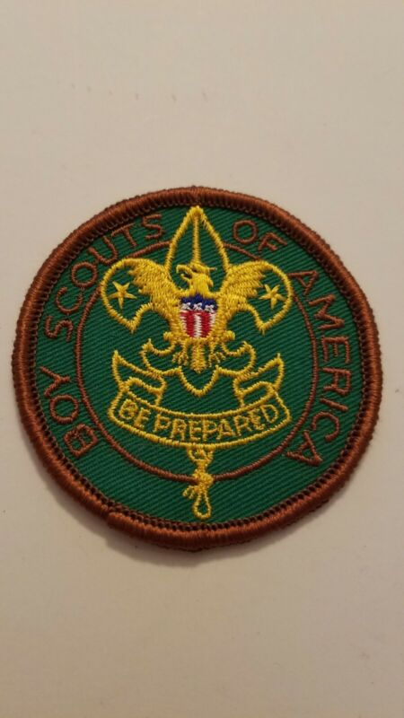 Vintage Boy Scouts Of America Be Prepared Round Patch Badge