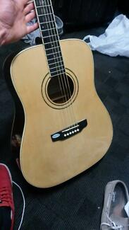 Essex Custom left hand acoustic guitar