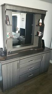 8pcs Queen Bedroom set for sale (used)