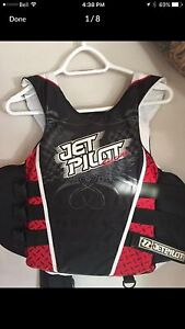 Jet Pilot Gear Wetsuits and Lifejackets Like New