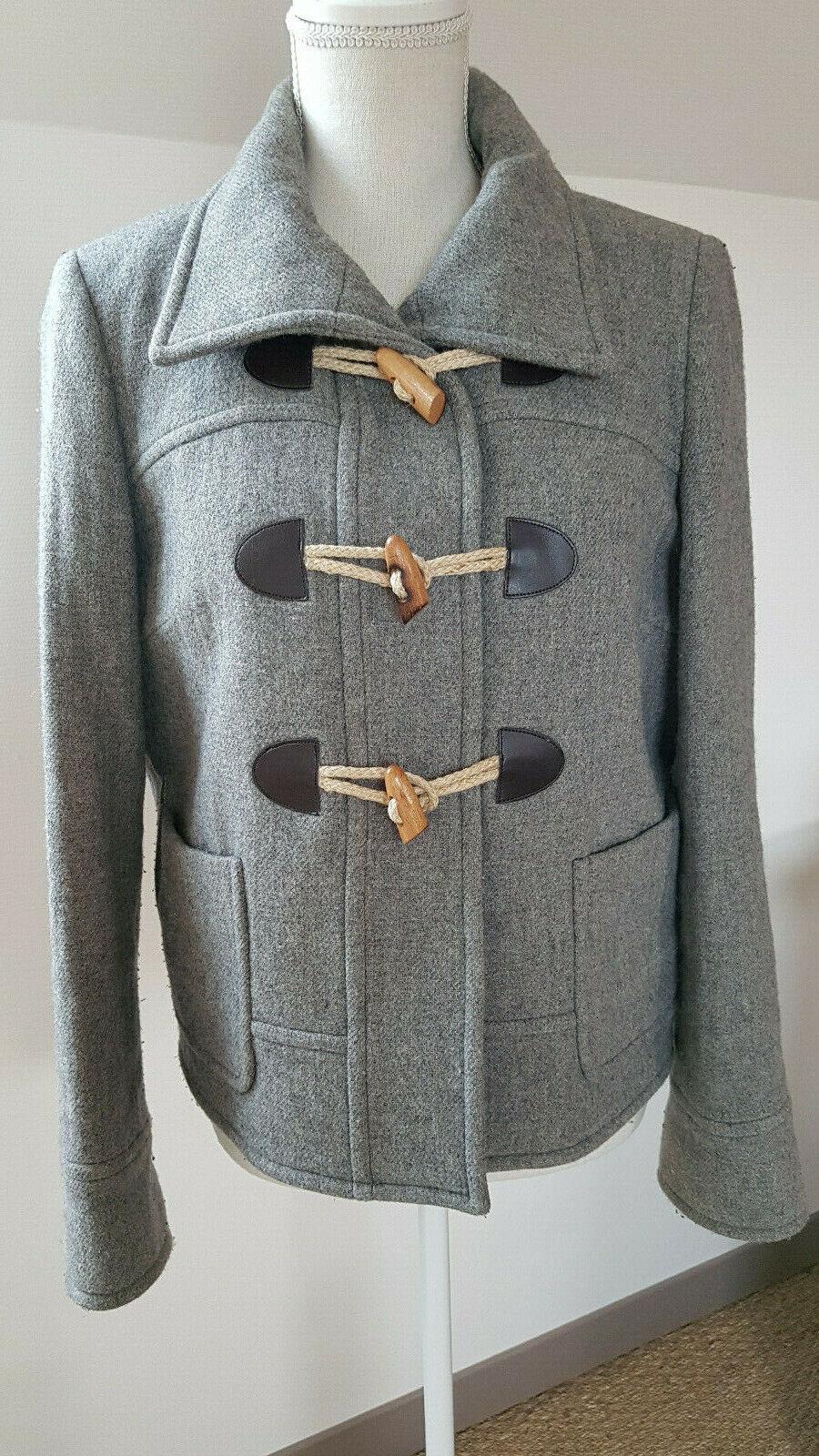 Duffle coat caroll t.40 valeur 240 €