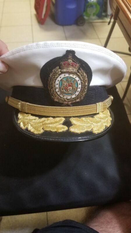 Norwegian naval officer hat