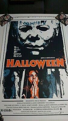 James Rheem Davis Halloween 2018 Samhain Signed & Numbered Screenprint 1st