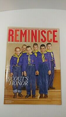 Reminisce April/Map 2019 Scouts Honor Reader's Digest