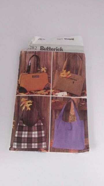 Handbag Bag Butterick 3282 Tote Purse Sewing Pattern | eBay