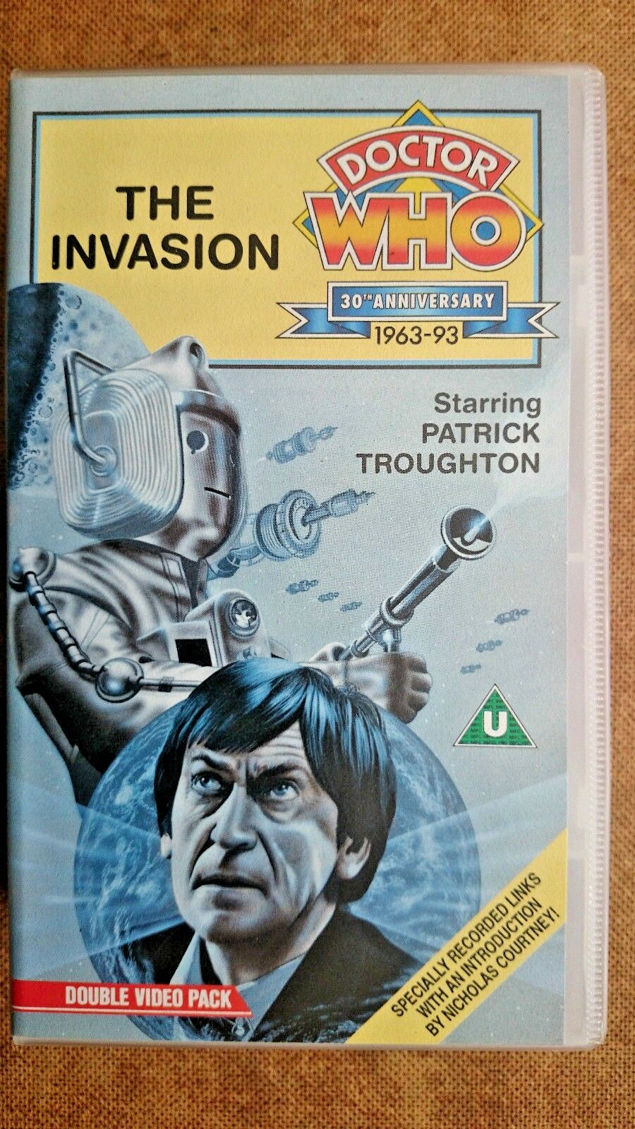 Doctor Who - The Invasion (VHS, 1993, 2-Tape Set) - Patrick Troughton