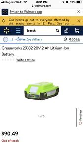 Greenworks 80v | Kijiji - Buy, Sell & Save with Canada's #1 Local