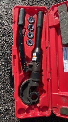 Burndy Y750hsxt 12 Ton Manual Hydraulic Crimping Tool