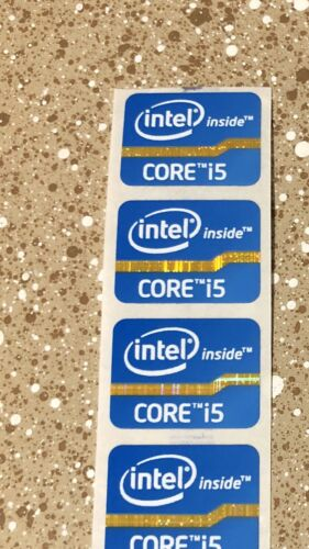 Intel Core i7 Inside Black Sticker 15.5 x 21mm Haswell Extreme 4th Gen Badge