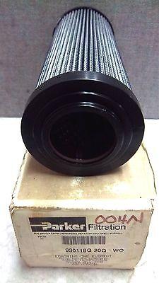 Parker Hydraulic Filter Element 930118q 20q Wo New 930118q20qwo