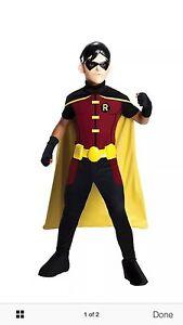 Superhero robin dress up costume age 10-12 Warnbro Rockingham Area Preview