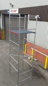 Scaffold Tower Galvanised D.I.Y FREE BOARDS Postage Included. NOW WINTER DEAL