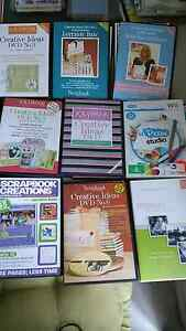 Scrapbook/CardMaking DVD's & Magazines.Also Paper Pads&Stamp kit Mango Hill Pine Rivers Area Preview