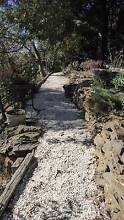 White landscaping pebbles Wentworth Falls Blue Mountains Preview