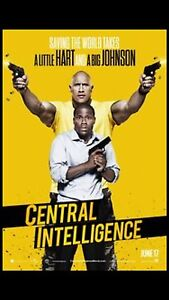 Central intelligence NEW Georgetown Newcastle Area Preview