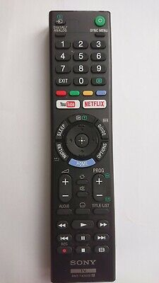 Genuine Original Sony Bravia TV RMT-TX300E Remote Control Netflix Youtube