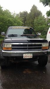 93 Dakota 4x4 318 5 speed trade for 4x4 atv