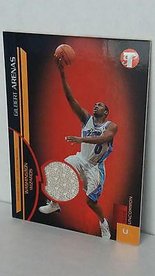 Wizards Arenas (2005-06 Topps Pristine Uncirculated #153 GILBERT ARENAS Shirt /100 !! (Wizards))